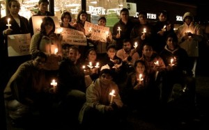 Seattle Vigil, 29th January 2011