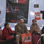 Prominent actors, writers, muscians protest the imprisonment of Dr Binayak Sen (New Delhi 15 January 2011)